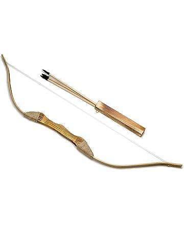 9d5cc82a9794 Rustique en bois arc 99cm 39 in, carquois et flèches - tir à l