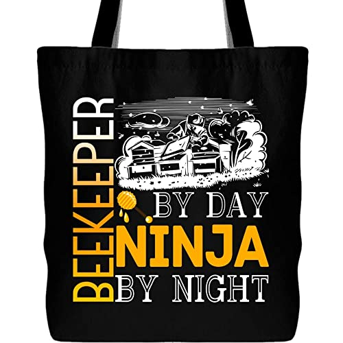 Amazon.com: Beekeeper By Day Tote Bags, Ninja By Night ...