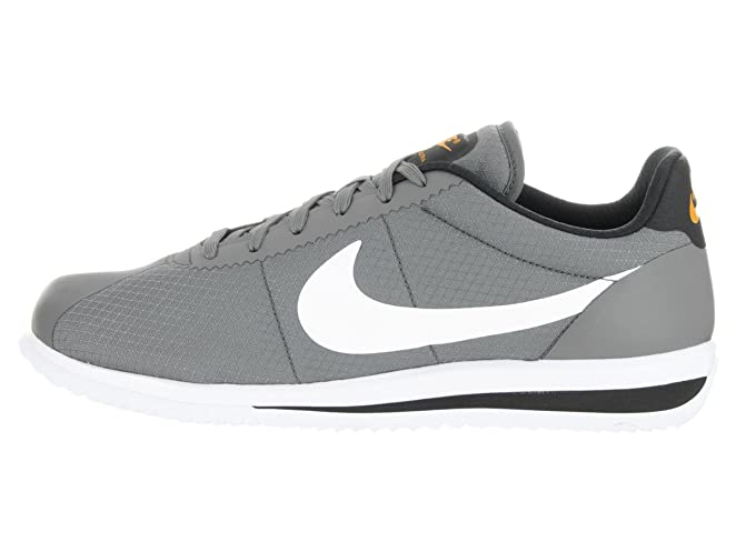 Amazon.com | Nike Men's Cortez Ultra Tumbled Grey/White/Black/Gold Casual  Shoe 12 Men US | Shoes