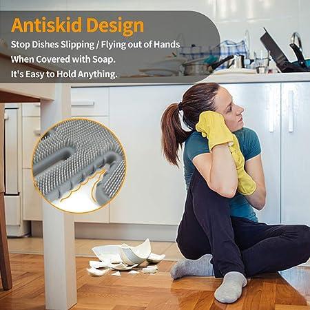 Amazon.com: Magic - Guantes de silicona para lavavajillas ...