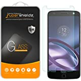 [2-Pack] Motorola Moto Z / Moto Z Droid Tempered Glass Screen Protector, Supershieldz Anti-Scratch, Anti-Fingerprint, Bubble Free, Lifetime Replacement Warranty
