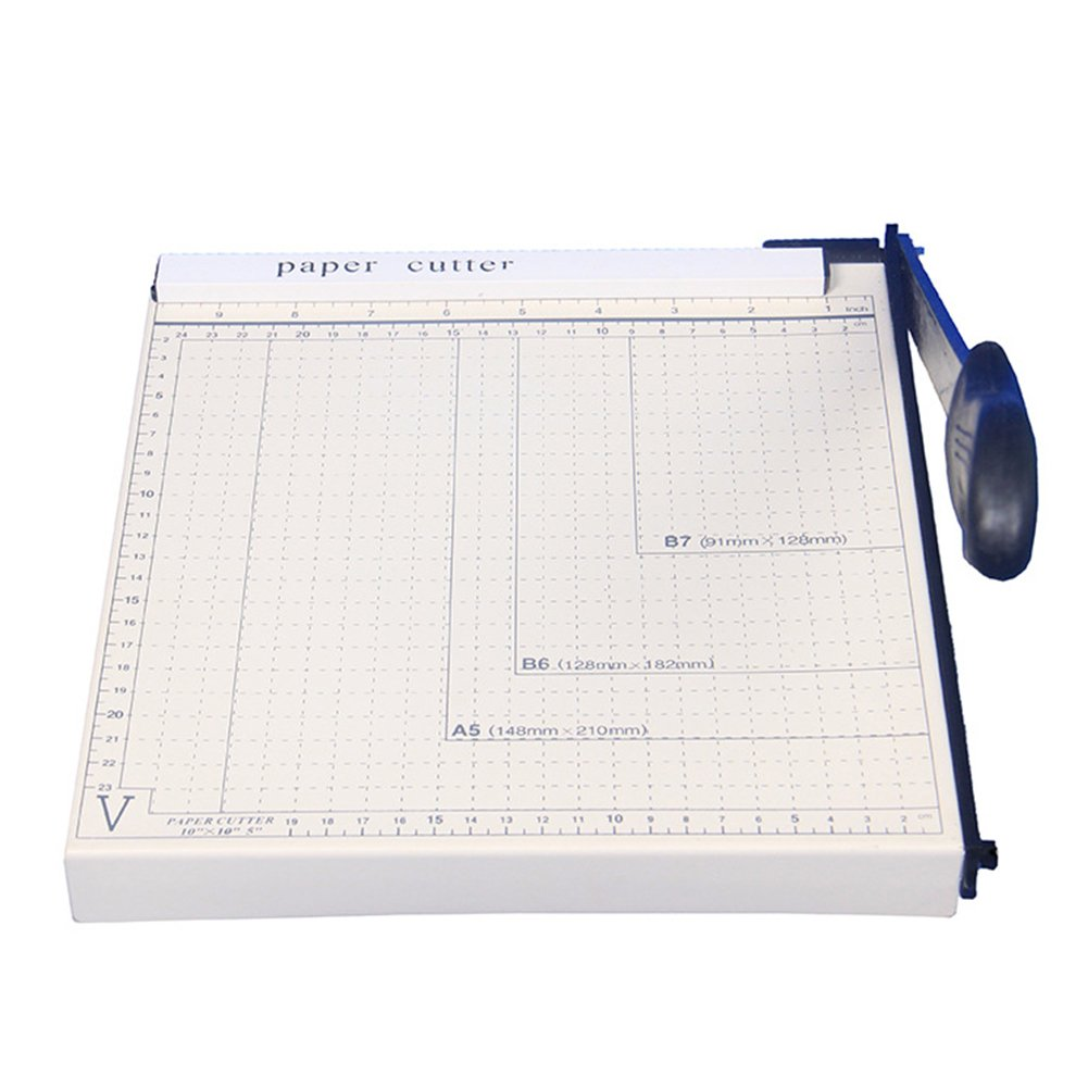 B5 Paper Cutter Blade Gridded Paper Trimmer Manual Guillotine for Offices Photo Studio