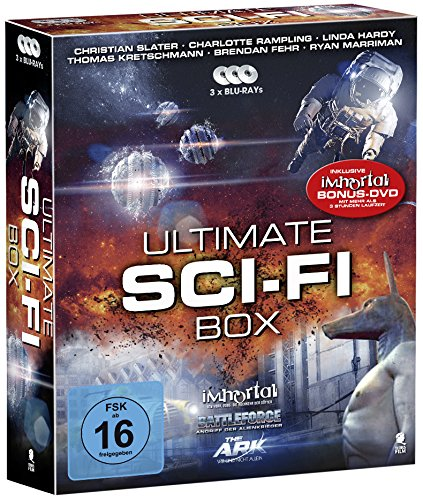 Ultimate Sci-Fi Box - Boxset mit 3 SciFi-Hits und 1 Bonus-DVD: Battleforce, The Ark, Immortal