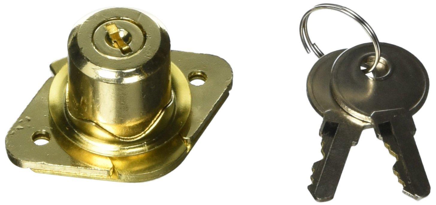 Alloy Steel Brass TOOLBASIX 6298319-3L Drawer Lock Keyed
