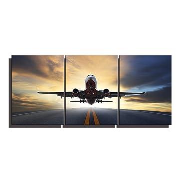 Amazon.com: Air Run Take Off Landscape Picture Art Prints Arto ...