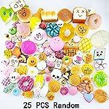 25PCS Squishy Slow Rising Kawaii Soft Squishy Children Toy Flatback Panda ...