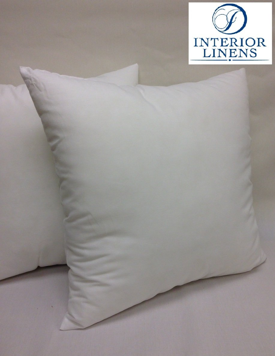 26'' x 26'', 47oz. Pillow Insert: 100% Polyester Fill / Down Alternative - 1'' Oversized & Firm Filled (Actual Size: 27''x27'')