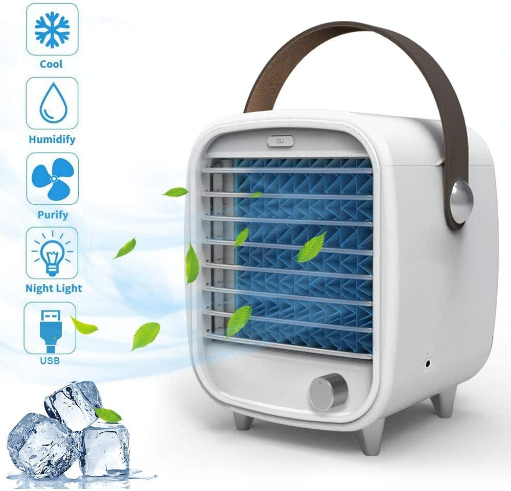 Aire Acondicionado Portátil, mixigoo Mini Aire Refrigerador ...