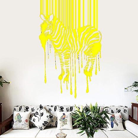 AiyoAiyo Zebra Pattern Etiqueta de la pared Pegatinas de pared ...