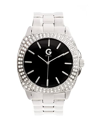 G by GUESS Oversized Crystal Watch  Amazon.co.uk  Watches 22e9a2bdcab