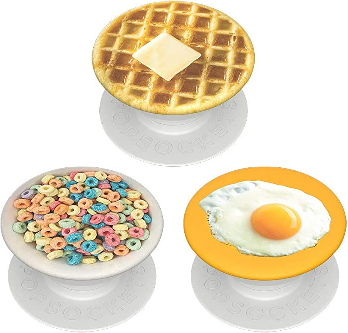 PopSockets PopMinis: Mini Grips for Phones & Tablets (3 Pack) - Breakfast Club