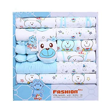 Amazon.com : Gift-Sets/Gift Box For babies, Cotton Newborn Clothing 0-10 Months(Sets Of 18) : Baby