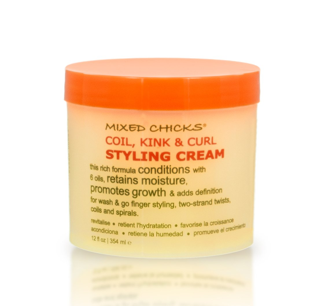 Mixed Chicks Coil, Kink & Curl Styling Cream, 12 Fl. Oz by Mixed Chicks