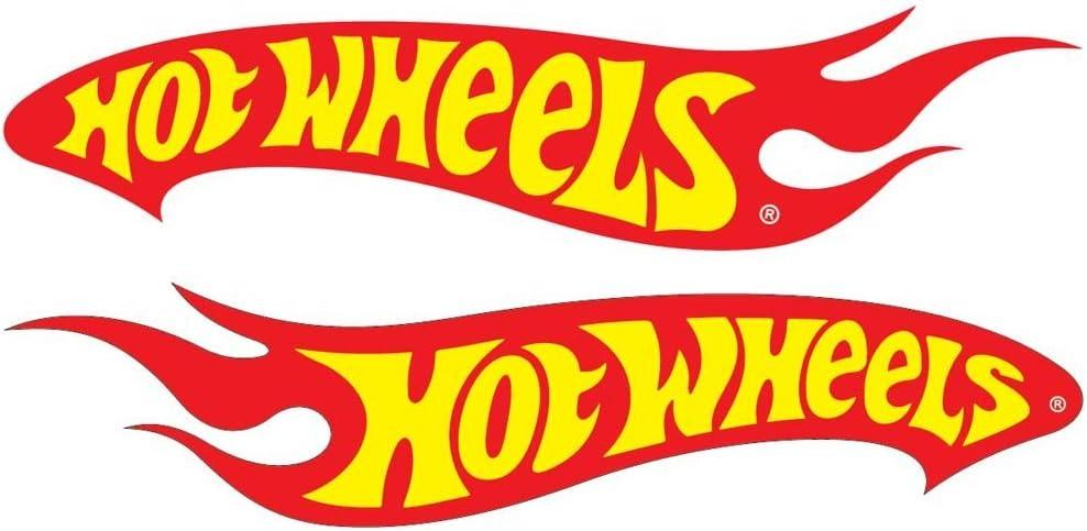HOTWHEELS LOGO Decal Vinyl Sticker *** 5 inch by 5 inch ***