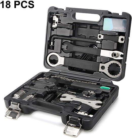 Prima Profesional 18 piezas para bicicleta Kit de herramientas de ...