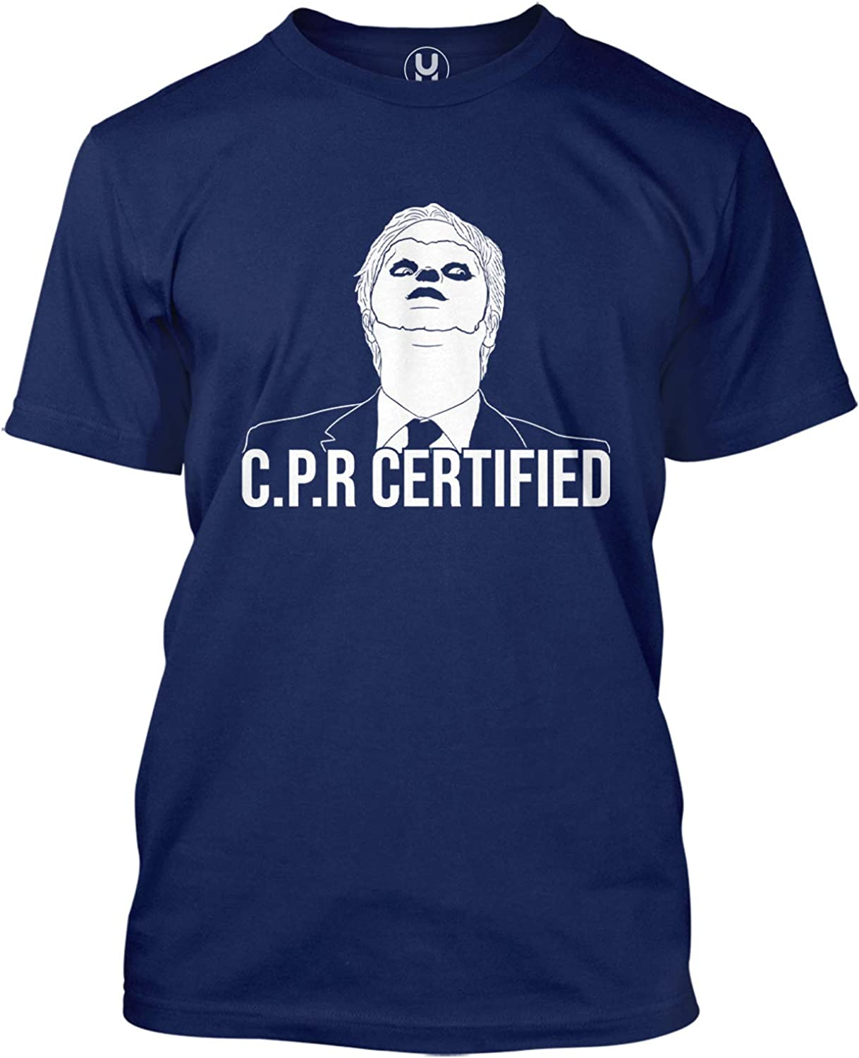 Haase Unlimited CPR Certified - Dwight Dummy Face Men's T-Shirt
