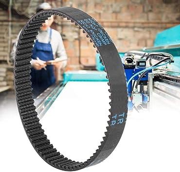 Maxmartt HTD3M Circular Rubber Timing Belt Closed-Loop Laser Cutting Machine Ring Belt 228mm 9mm