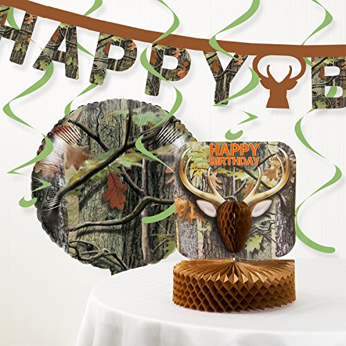 Creative Converting Hunting Camo Party Decorations Kit