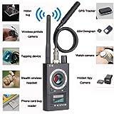 Anti Spy Camera Detector Wireless RF Bug Detector Signal for Hidden Camera Laser Lens GSM Listening Device Finder Radar Radio Scanner Wireless Signal Alarm