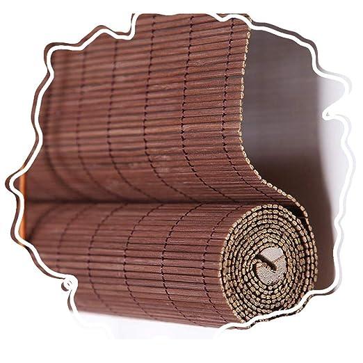 ZEMIN Bambú Persiana Ventana Enrollable Enrollar Porche Pérgola Mirador, 70cm Ancho Personalizable, Persianas, Cortina Filtrado Luz, 2 Colores (Color : B, Size : 150cmx220cm): Amazon.es: Hogar