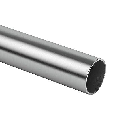 Barandilla redonda de acero inoxidable, tubo de acero ...