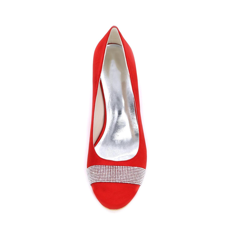 L@YC Keil-Wedge-hochhackige Hochzeits-Schuh-Anpassung der Frauen 9140-04 Komfortable Komfortable Komfortable mehrfarbige große Yards 79d63c