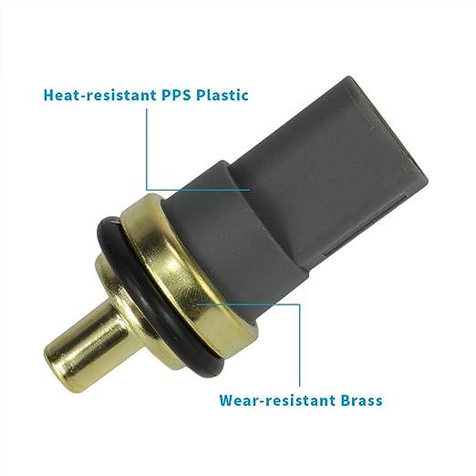 Engine Coolant Temperature Sensor Switch Fit 06A 919 501A for Audi A3 A4  Quattro A5 A6 A8 Q5 Q7 RS4 S4 S5 S6 TT Volkswagen Beetle CC Eos Golf GTI