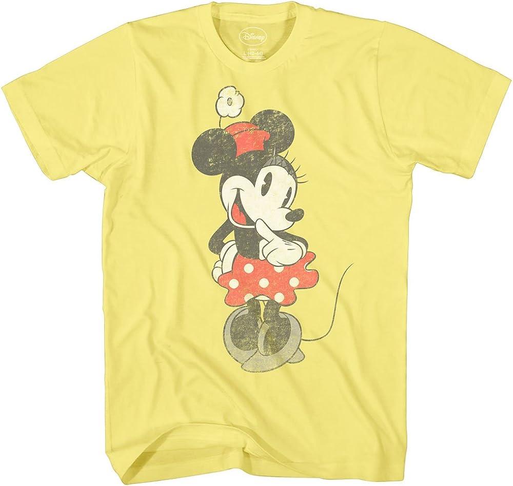 Disney Villain Group Classic Retro Vintage Movie Disneyland World Mens Adult Ringer T-Shirt Apparel