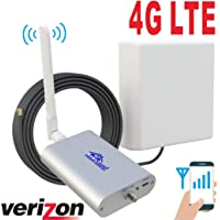 Verizon 4G LTE 700MHz 850MHz Cell Phone Signal Booster for Home and Office Band13/5 Mobile Phone Signal Repeater Including 45 Feet RG58 Cable Amplifier Full Kit