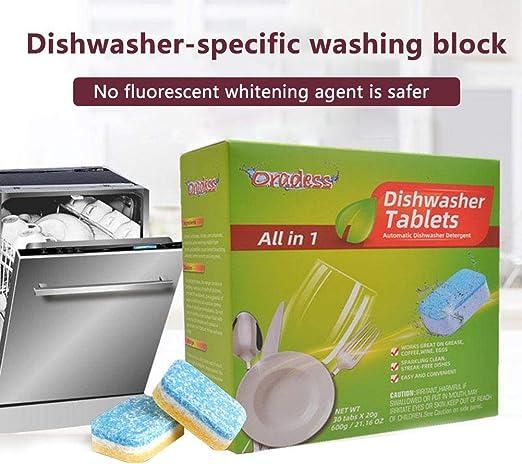 Heoolstranger - Detergente para lavavajillas (30 Unidades ...