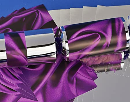 8 silver purple silk make fill your own party crackers kit 8 silver purple silk make fill your own party crackers kit solutioingenieria Gallery