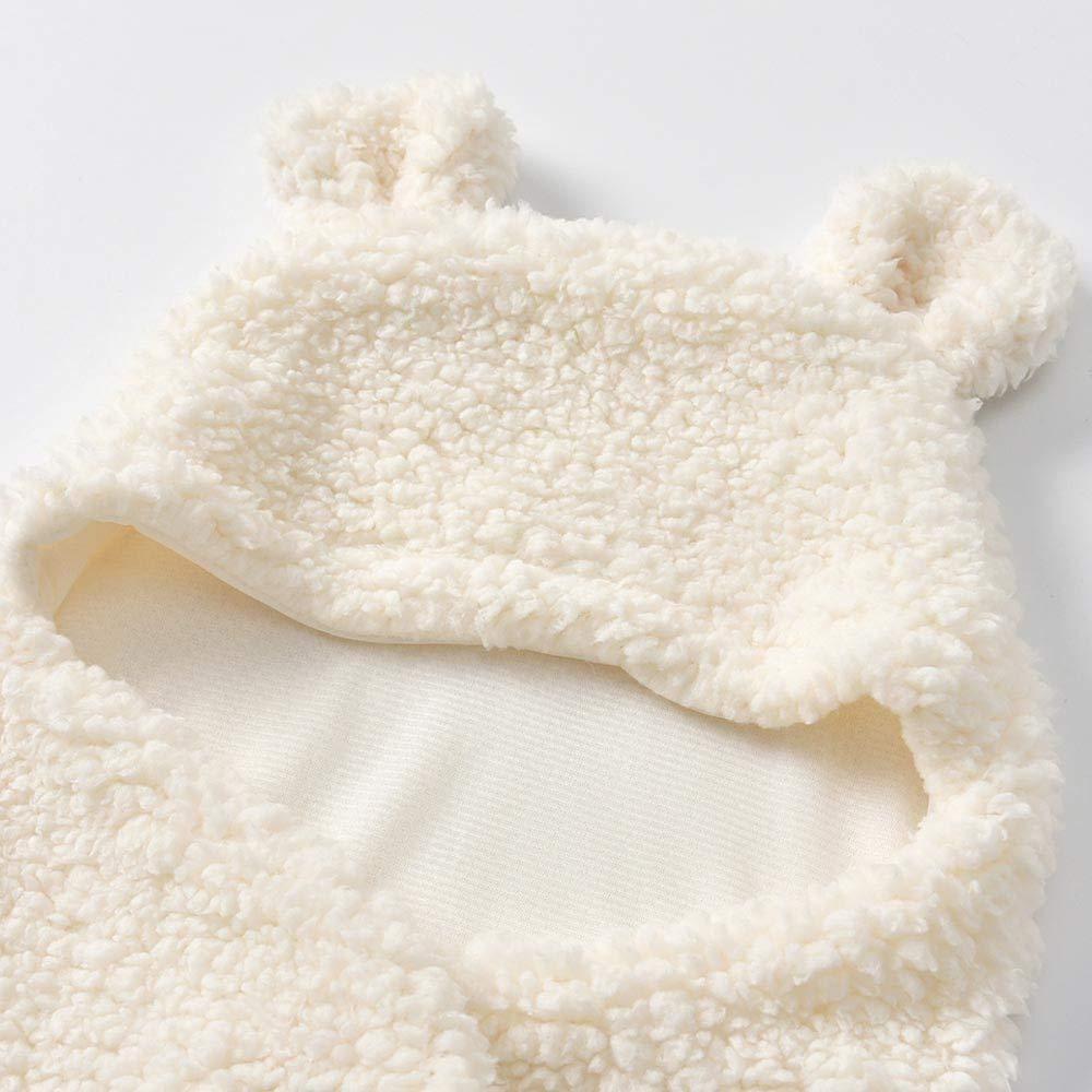 Pyjama Enfant Hiver Exterieur Manteau Costume LUBITY Grenouill/ère Barboteuse Combinaison B/éb/é Fille Gar/çon Molleton