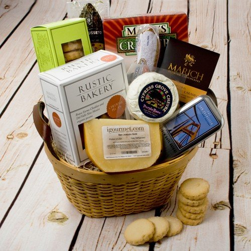 California Classic Gift Basket (4.6 pound) (Martini Gift Baskets)