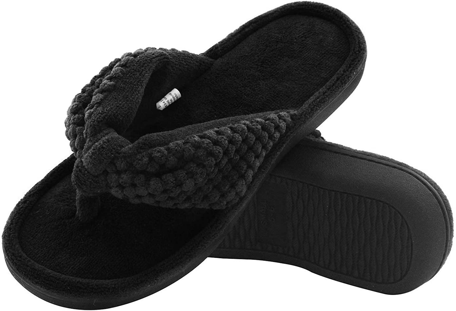 Memory Foam Flip Flop Slippers with