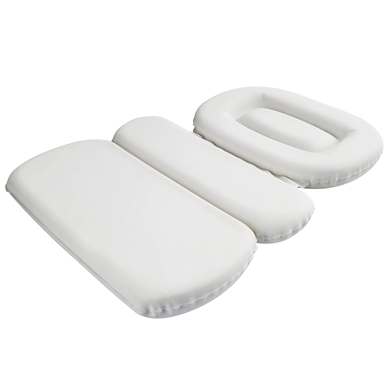 antibatterico antiscivolo Cuscino per vasca da bagno con 7 ventose Samincom colore: Bianco
