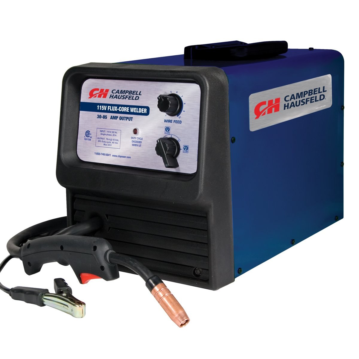 Flex Core Welder, 115 Volt, 70 Amps, Portable, Thermal Overload Protection,  Infinite Wire Feed (Campbell Hausfeld WF215001AV)   Power Welders    Amazon.com
