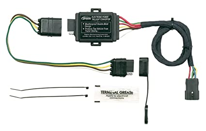 amazon com hopkins 43875 plug in simple vehicle to trailer wiring rh amazon com