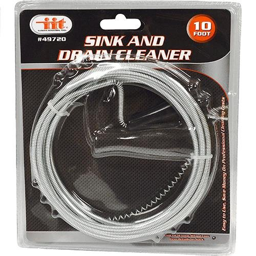 IIT 49720 Sink and Drain Cleaner, 10 Foot