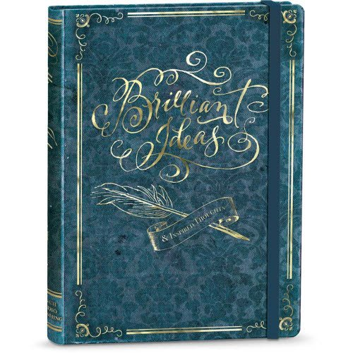 Punch Studio Book Style Journals with Elastic Band Closure (Brilliant Ideas)