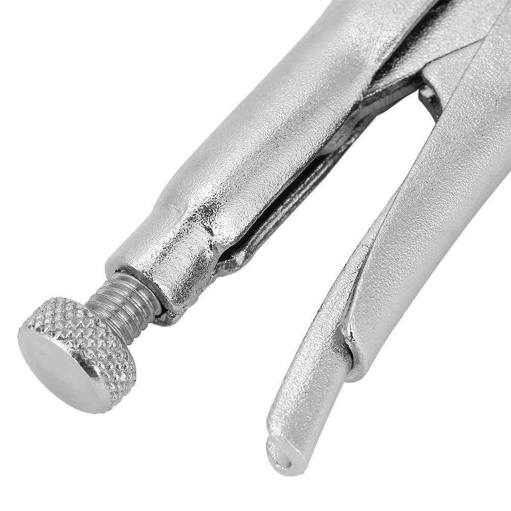 2pcs RT-R05 Pinces Verrouillables Fabriqu/ées En Acier /à Ressort Sp/écial M/âchoires Droites Au Sol 125mm // 110mm Tr/ès R/ésistantes /à La Traction