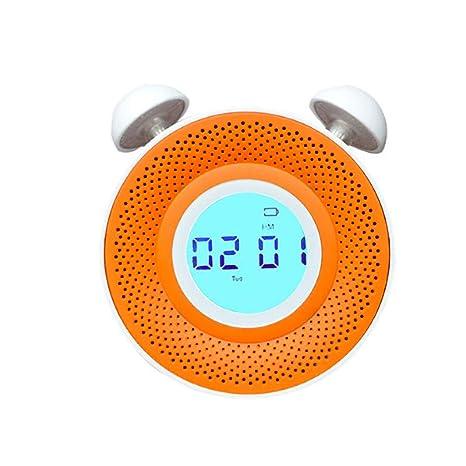Haoli Despertador LED Reloj de Pantalla Digital con Snooze Dormitorio de Estudiante Noche de cabecera Luz