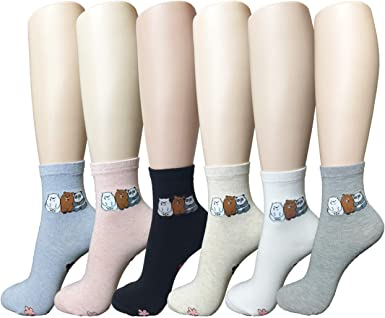 Unisex High Ankle Cushion Crew Socks Moon Among Cloud Picture Casual Sport Socks