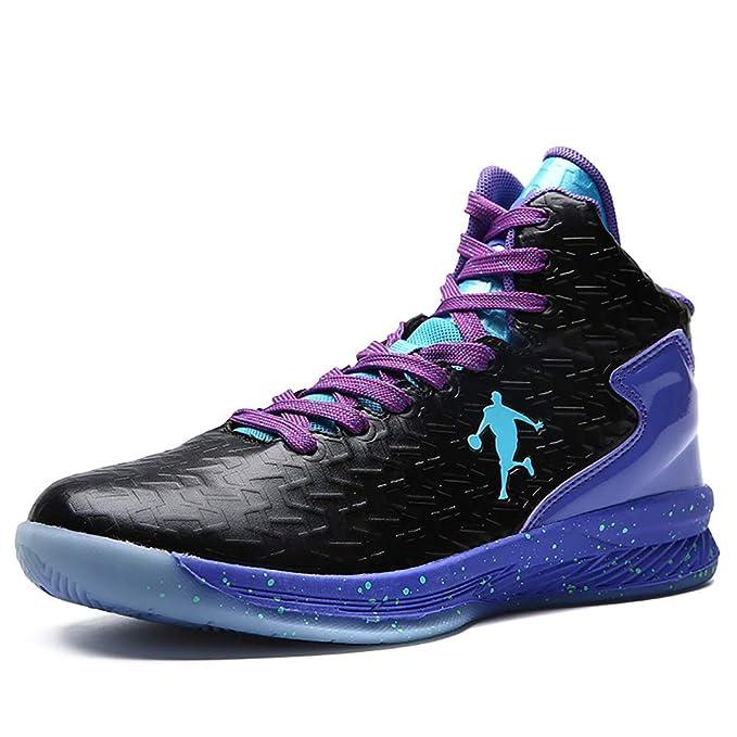 FHTD Zapatillas de baloncesto para hombre Zapatillas de deporte de ...
