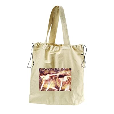 Travel Luggage Duffle Bag Lightweight Portable Handbag Fantasy Elephant Giraffe Pattern Large Capacity Waterproof Foldable Storage Tote