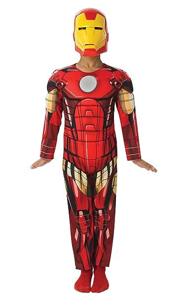 Deluxe Iron Man - Avengers Assemble - Childrens Disfraz ...