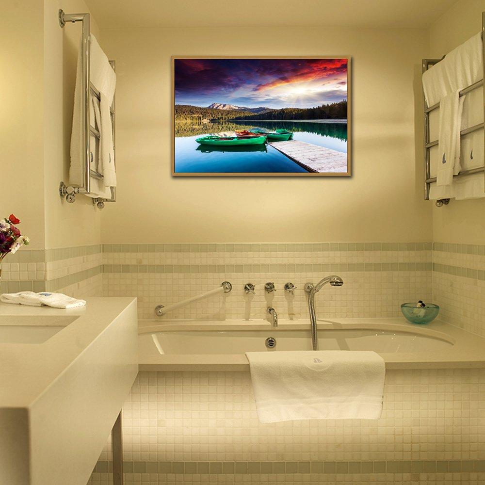 Amazon.com: LKY ART Wall Art Oil Painting Abstract Art Wall Scenery ...