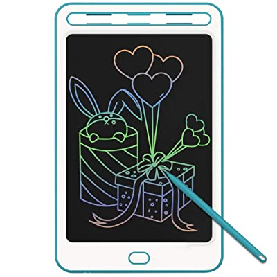 JONZOO Kids Writing Drawing Tablets Colorful Doodle Boards, 8.5 Inch LCD Writing Tablets Electronic Drawing Pads with Screen Lock and Pen, Gifts for Kids Adults at Home School Office: Computers & Accessories