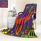 Digital Printing Blanket Ramayan Epic Legend Divine God Culture Sacred Holy Avatar Design Summer Quilt Comforter