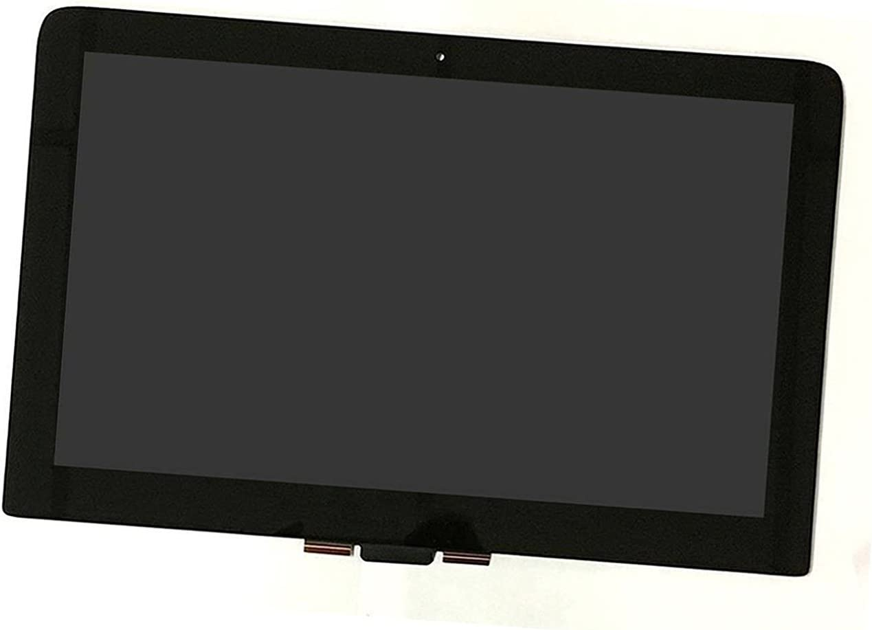 """13.3"""" 2560X1440 Touch Digitizer Panel Glass & LED LCD Display Touch Screen Replacement for HP Spectre 13-4105DX X360 (Left Connector)"""