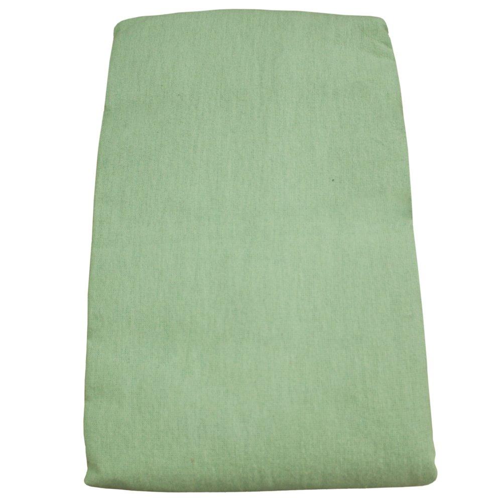 Body Linen Flannel Fitted Massage Sheet, Sage W67949
